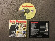 """FATS DOMINO """"THE EP COLLECTION"""" 1994 24 TRX.IMPORT OOP EX.CONDITION COMPILATION!"""