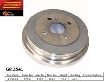 Brake Drum-Base Rear Best Brake GP3541