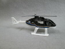Police Rescue Helicopter black Unit 541 New Die-Cast Matchbox