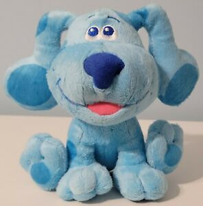 """Blues Clues & And You 7"""" BLUE Plush Stuffed 2020 Nickelodeon Viacom Puppy Dog"""