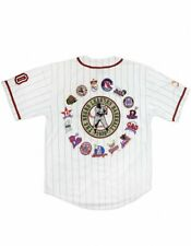 COMMEMORATIVE NEGRO LEAGUE BASEBALL JERSEY WHITE EDITION NEGRO LEAGUE JERSEY #3