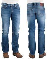 Mustang Herren Jeanshose Oregon Straight Blau W29 - W38