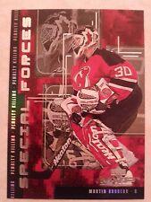 1998-99 UD Upper Deck MVP Special Forces Martin Brodeur Card F9 Nice Set