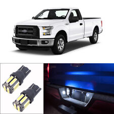 2pcs Bright White License Plate Lights LED Bulbs Fit for Ford F-150 1997-2019
