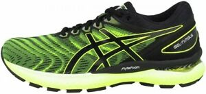 Asics Running Shoes GEL-NIMBUS22 1011A680 Safety Yellow / Black With Tracking