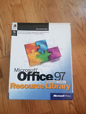 Microsoft Office 97 Resource Library Developer Edition Books Disks
