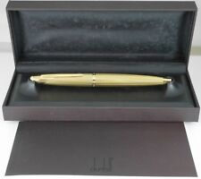 dunhill AD2000 Gold Plated Barley Fountain Pen with box M Excellent FREESHIPPING
