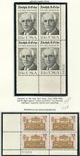 18 P#/BLOCKS ( FROM 1977 ) OG/NH MINT FRESH ,( SEE 12 SCANS) FACE $21.32
