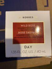 Korres Wild Rose Vitamin C Brightening 24H Moisturizer Cream 1.35fl oz/40ml New