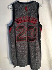 Adidas Swingman NBA Jersey Philadelphia 76ers Lou Williams Grey Kinetic sz S
