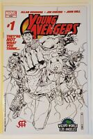 Young avengers #1 wizard world variant signed by Jim Cheung