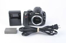 GOOD NIKON D5000 12.3MP DSLR BODY ONLY w/BATT+ CHARGER 350K ACTS, WORKS GREAT