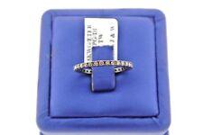 18K WHITE GOLD 1.00 CT CHAMPAGNE DIAMOND ETERNITY LADIES BANDS, 1.7gm