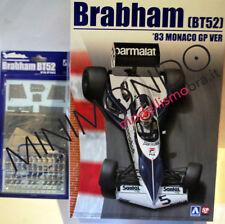 KIT F1 BRABHAM BMW BT52 1983 MONACO GP + GRADE UP SET 1/20 AOSHIMA BEEMAX 20003