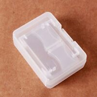 Compact Portable Case Storage Protecter Card Case Plastic Memory Card Holder