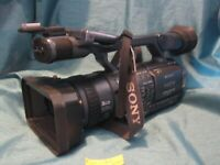 Sony Handycam HDR-FX1 3CCD High Definition 1080i Camcorder - WORKS AS-IS Look