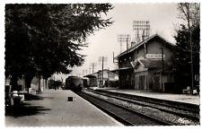 CPSM PF 01 - VILLARS LES DOMBES (Ain) - La Gare