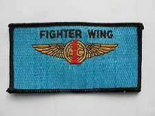 USAF Military US Air Force 1st Fighter Wing Embroidery Appliqué Patch--005
