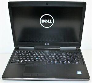 """15.6"""" 4K UHD Dell Precision 7510 Core i7 6th 16GB 1TB Intel NVidia 3840x2160"""