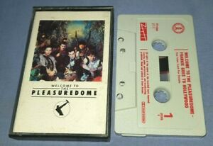 FRANKIE GOES TO HOLLYWOOD WELCOME TO THE PLEASUREDOME cassette tape album A1568