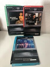 3 - MICHAEL JACKSON MUSIC SCREENERS THRILLER - BAD & CHILDHOOD 3.5 DISKETTES