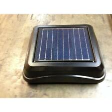 BROAN 345SOBK-A ROOF MOUNT SOLAR POWERED VENTILATOR, 28:WATTS 537:CFM
