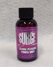 Surge Sexual Pleasure Power Shot For Her 2oz Fruit Ginseng Endurance Libido USA