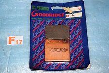2 plaquettes de frein GOODRIDGE SUZUKI 750 800 1400 INTRUDER GSX GSXR 750 1100