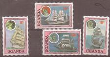 UGANDA SG530/33 1986 CADET SAILING MNH