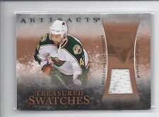 2010-2011 Artifacts Hockey Guillaume Latendresse Treasured Swatches Jersey Card