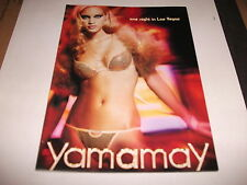 Catalogo Yamamay - one night in Las Vegas - preview 2008 - JLO by Jennifer Lopez