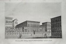 Genova Italia Italia palazzo della regina età chiave RAME 1835