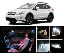 2013 - 2015 Subaru XV Crosstrek Premium White LED Interior Package (6 Pieces)