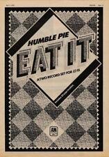 Humble Pie Eat It UK LP advert 1973