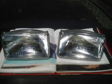 "2 X 4X6"" HEADLIGHTS H4651 160mm CADILLAC BUICK LINCOLN MERCURY AMC MASERATI DMC"