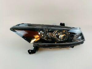 2008 2009 2010 2011 2012 Honda Accord Coupe Headlight Right Halogen Lamp depo