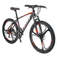 "Lightweight Aluminium Frame Mountain Bike 27.5"" Mens Bicycle Shimano 21 Speed"