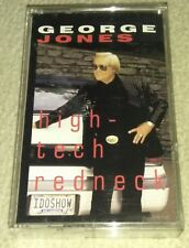 High-Tech Redneck by George Jones (Cassette, Nov-1993, MCA Records)