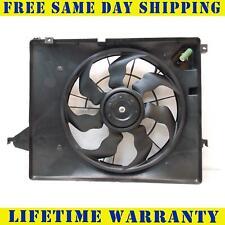 Radiator And Condenser Fan For Kia Sorento Hyundai Santa Fe HY3115130