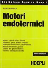 Motori endotermici - Giacosa Dante