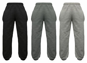 Brand New Ladies Fleece Jogging Bottoms Pockets Warm Trousers Sizes S-XL(12-22)