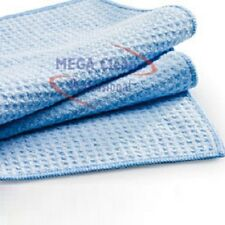 Mikrofaser Waffeltuch 50 x 70cm blau, enorme Saugkraft MegaClean  Microfaser