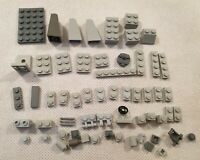 Mixed Bundle of Vintage Lego Grey Blocks and Miscellaneous Pieces