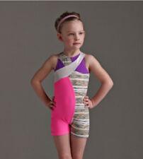IN STOCK Capezio Warp Speed Biketard Short Dance Costume Child Large