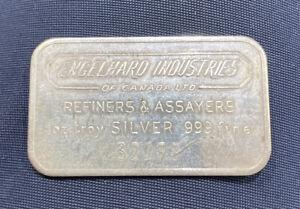 Rare & Vintage Engelhard Industries of Canada Ltd. 1 oz .999 Silver Bar