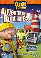 Bob The Builder - Adventures In Bobland Bay [DVD] [2009], Acceptable DVD, Unknow