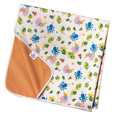 Non Slip Splash Mat by TotsAhoy!® Large Under Highchair Baby Weaning Floor Sea