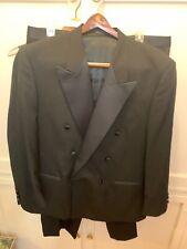 monsieur givenchy 3 piece tuxedo double breast jacket vest & pants
