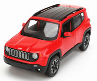 JEEP RENEGADE 1:24 scale diecast model metal die cast toy car miniature red