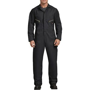 Dickies Men's Coverall Deluxe Blend Long Sleeve Jumpsuit Uniform Workwear 48799